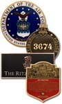 Cast Plaque Awards & Emblems