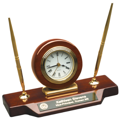 Desk Clock Award
