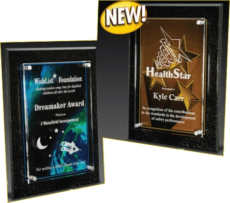 Acrylic Plaque Awards Engraved
