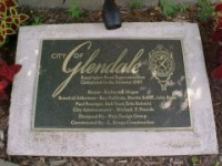 Cast Bronze Dedication Plaque with Logo