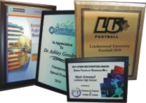 Full color plaques