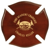 Maltees Cross Plaque Award