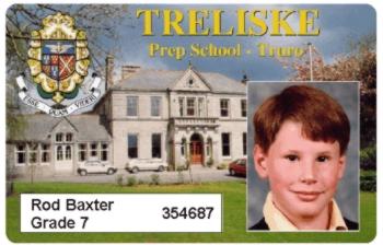Photo ID School Name Tag