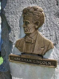 Cast Lincoln bronze Bust - after